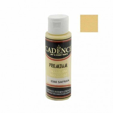 Pintura Acrilica Premium SAFFRON Cadence 70ml