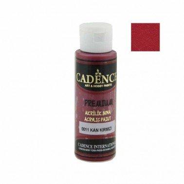 Pintura Acrilica Premium BLOOD RED Cadence 70ml