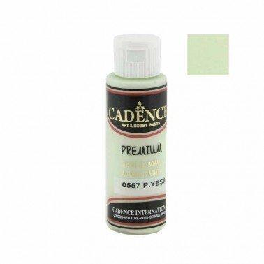 Pintura Acrilica Premium VERDE PASTEL Cadence 70ml