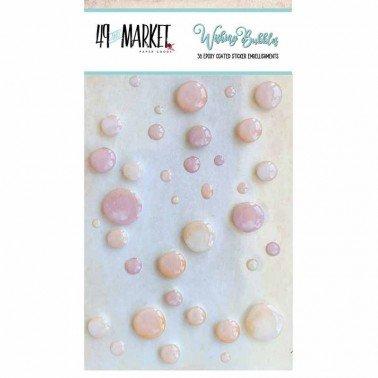 Adornos adhesivos Wishing Bubbles Cream Soda 49&MARKET