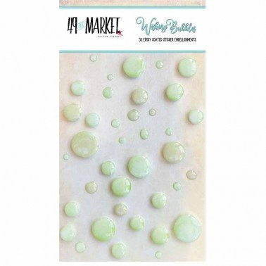Adornos adhesivos Wishing Bubbles Limeade 49&MARKET