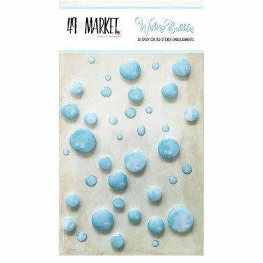 Adornos adhesivos Wishing Bubbles Cotton Candy 49&MARKET