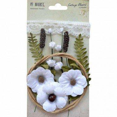 Flores de Papel Cottage Blooms Cotton 49&MARKET