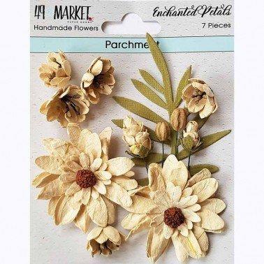 Flores de Papel Enchanted Petals Parchment 49&MARKET