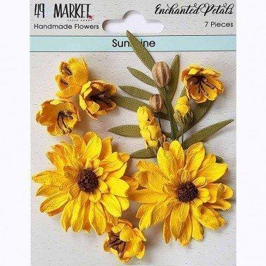 Flores de Papel Enchanted Petals Sunshine 49&MARKET