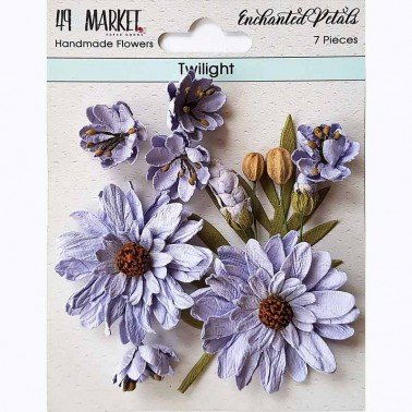 Flores de Papel Enchanted Petals Twilight 49&MARKET