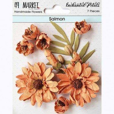 Flores de Papel Enchanted Petals Salmon 49&MARKET