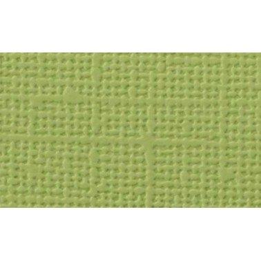 "Cartulina textura lienzo KIWI 12x12"" 216 gr."