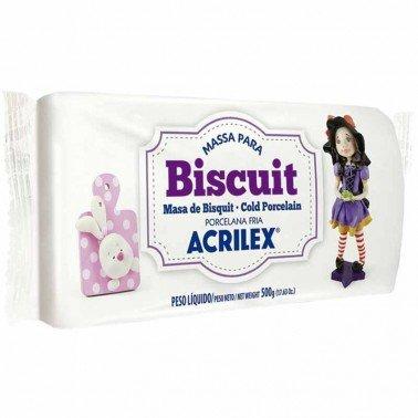 Pasta porcelana fria ACRILEX – BLANCO Nº519, 500 gr.