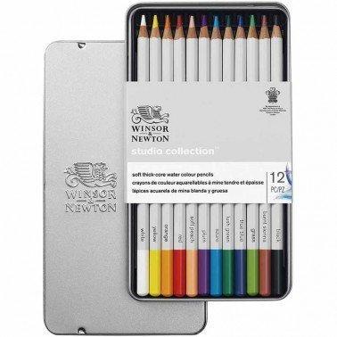 Surtido 12 lápices acuarelables Winsor & Newton