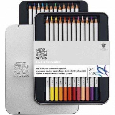 Surtido 24 lápices acuarelables Winsor & Newton
