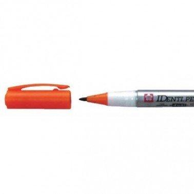 Rotulador IDENTI-PEN marca Sakura naranja.
