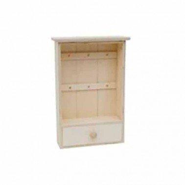 Caja llavero de madera 23x8x34cm