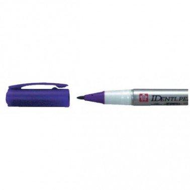 Rotulador IDENTI-PEN marca Sakura violeta.