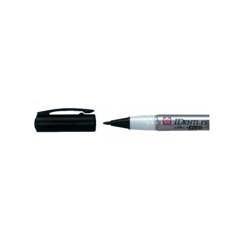 Rotulador IDENTI-PEN marca Sakura negro.