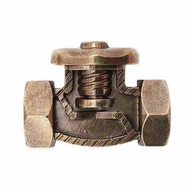Apliques metálico MitFORM Válvula Tuerca 26x20 mm.