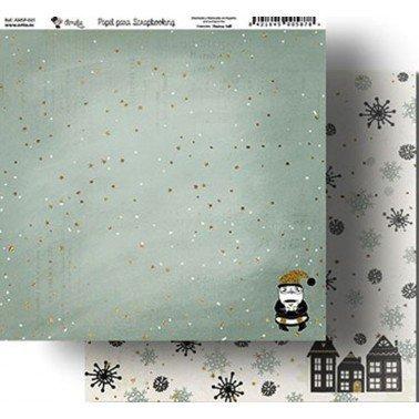 Papel Scrapbooking Amelie 041, 305x320 mm.