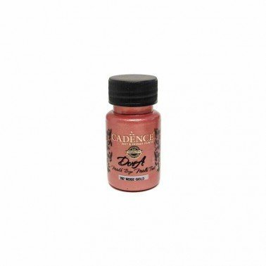 Pintura DORA METALLIC ROSE GOLD CADENCE, 50 ml