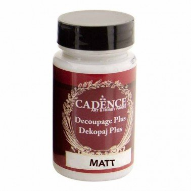 Cola Decoupage Plus CADENCE MATE 90 ml.
