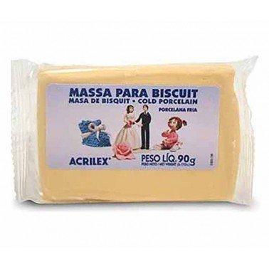 Pasta porcelana fria ACRILEX – AMARILLO PIEL Nº538, 90 gr.