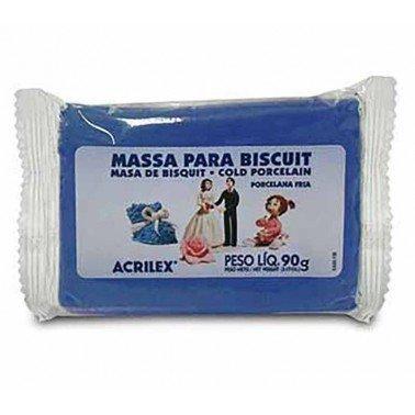 Pasta porcelana fria ACRILEX – AZUL COBALTO Nº502, 90 gr.