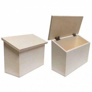 Caja de madera 21x9.5x14.5cm