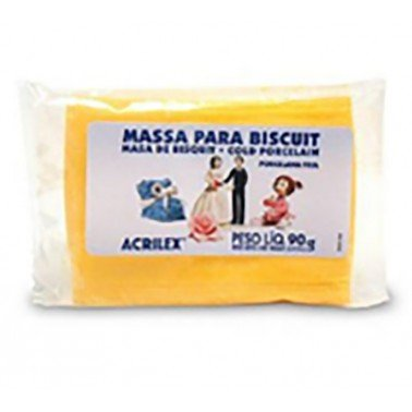 Pasta porcelana fria ACRILEX – AMARILLO CADMIO Nº536, 90 gr.