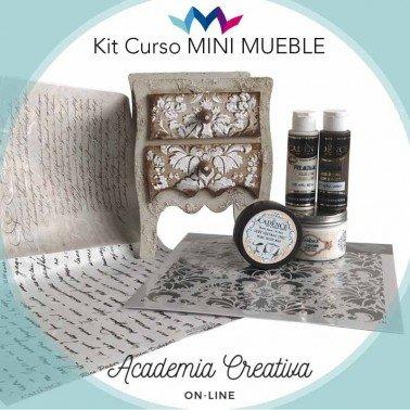 Kit MiniMueble ACADEMIA CREATIVA