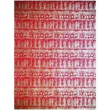 PAPEL NATURAL NEPAL GRANATE GRABADOS ORO 38X56 cm