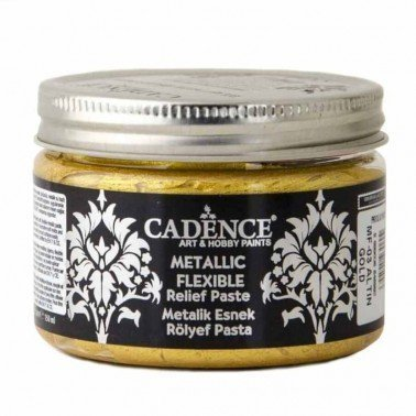 Pasta Flexible Metálica GOLD 150ml Cadence