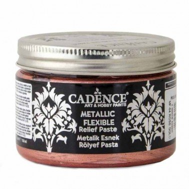 Pasta Flexible Metálica ROSE GOLD 150ml Cadence