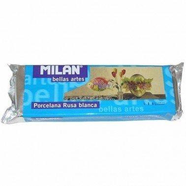 Pasta porcelana Rusa BLANCA MILAN, 500 gr.