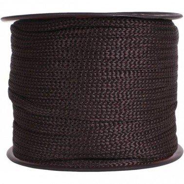 Cordón cadeneta Marrón 1 metro.
