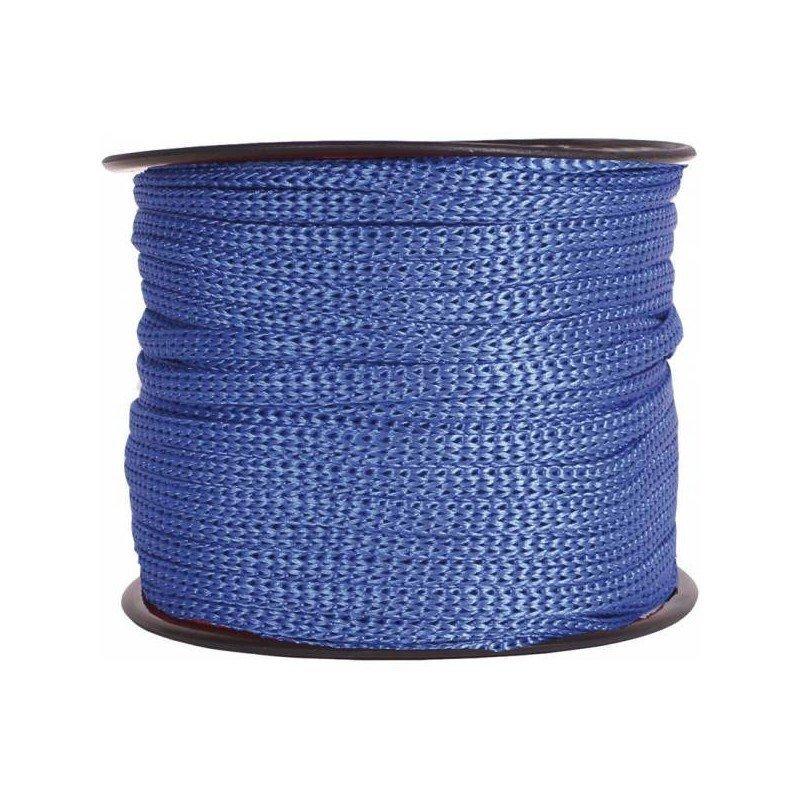 Cordón cadeneta Azul rey 1 metro.