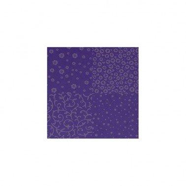 Goma Eva flocada Violeta-Lila 60 x 40 cm, grosor 2 mm.