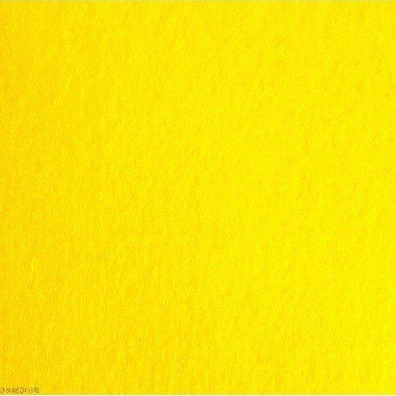 Hoja Fieltro color amarillo 1 mm.