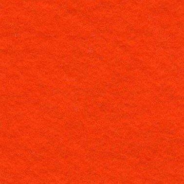 Hoja Fieltro color naranja 3 mm.