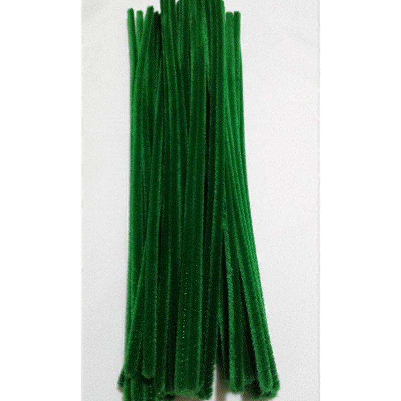 Limpiapipas - Chenilla verde oliva.