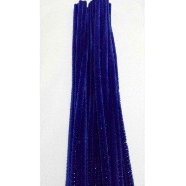 Limpiapipas - Chenilla azul marino.