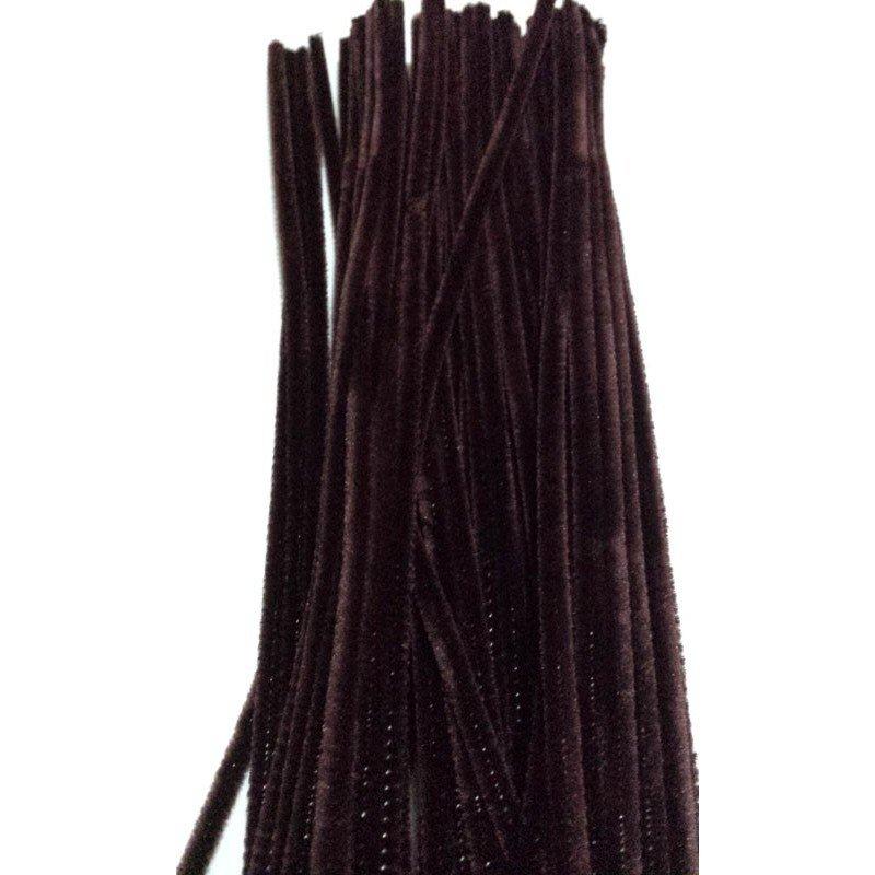 Limpiapipas - Chenilla marrón.