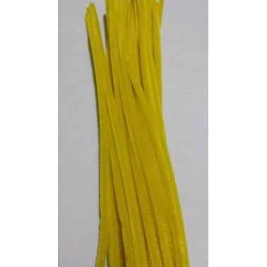 Limpiapipas - Chenilla amarillo.