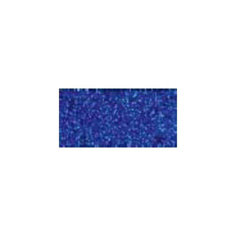 Goma eva purpurina azul