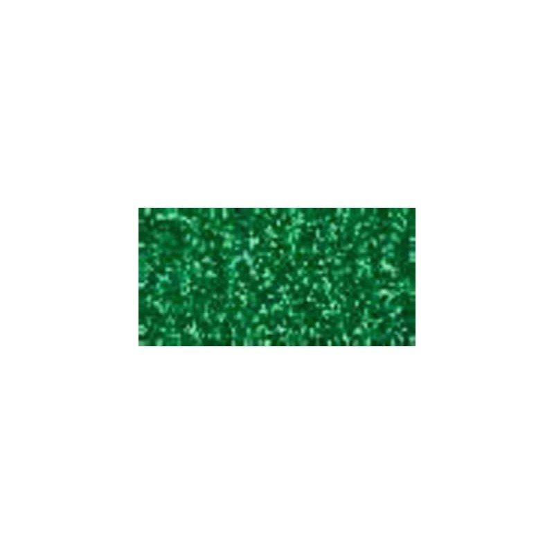 Goma eva purpurina verde