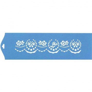 Stencil Volantes 28,5 x 8,4 cm.