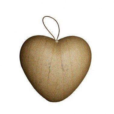 Corazón 3D cartón  87 mm.