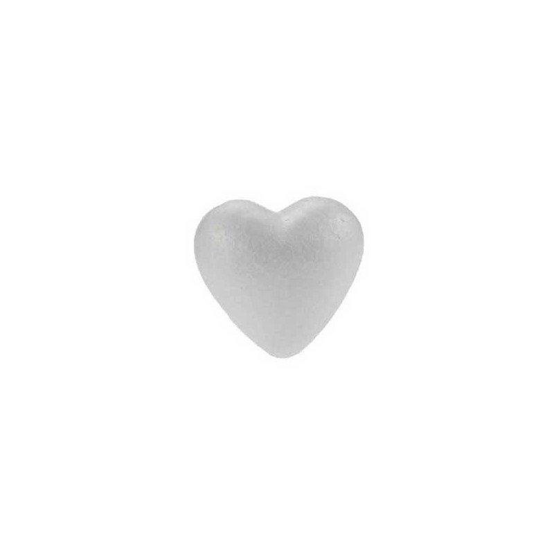 Corazón de pórex 70 mm.