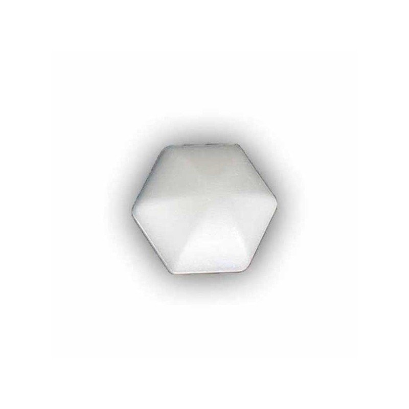 Bola hexagonal de porex 80 mm.