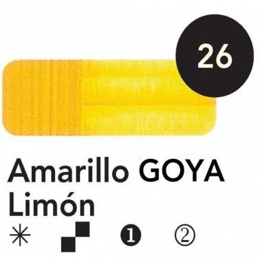 Titán Goya Amarillo Goya Limón nº 26, 20 cc.