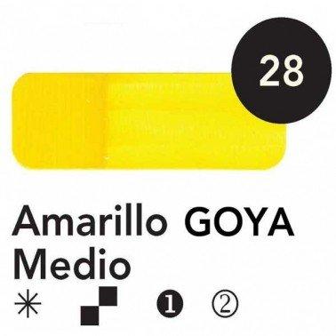 Titán Goya Amarillo Goya Medio nº 28, 20 cc.
