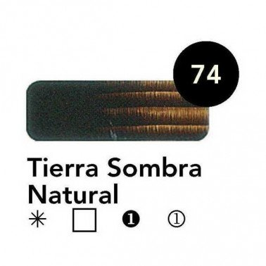 Titán Goya Tierra Sombra Natural nº 74, 20 cc.